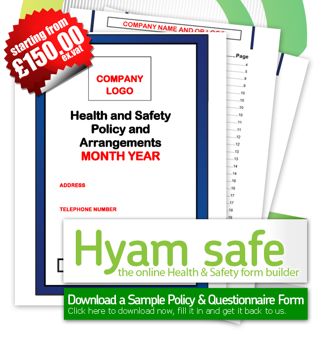 Heath & Saftey Forms - Hyamsafe.Com
